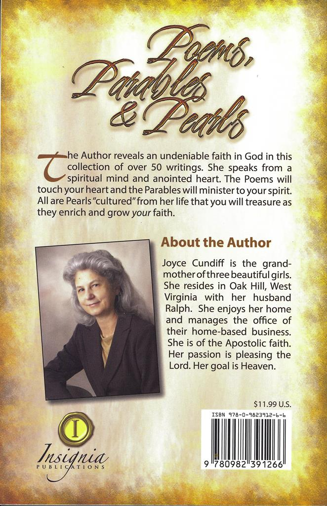 Poems, Parables & Pearls - Joyce Cundiff