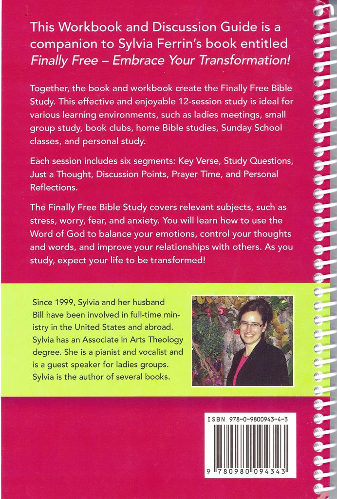 Finally Free - Workbook & Discussion Guide - Sylvia Ferrin