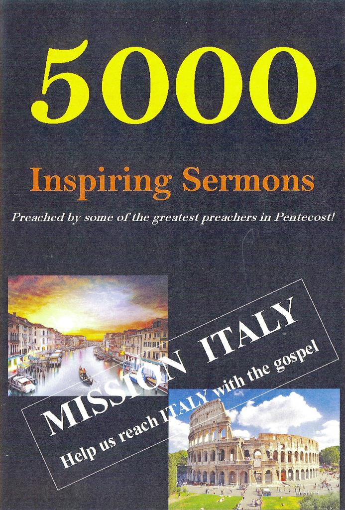 5000 Pentecostal Sermons
