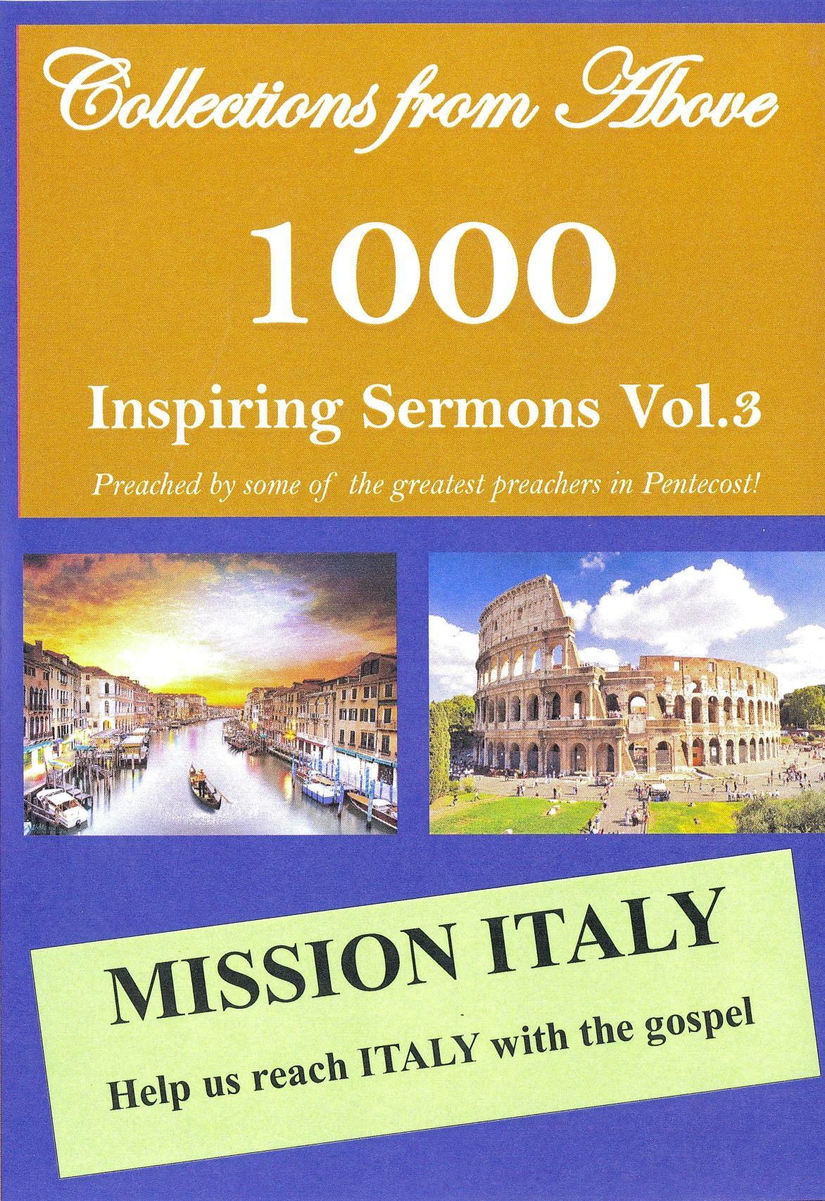 1000 Pentecostal Sermons Vol 3